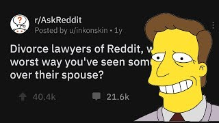 Download Divorce Lawyers Share The Worst Ways Someone's Gotten Back At A Spouse Video