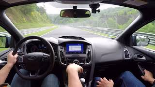 Download 2017 Focus RS Passed a Ferrari! 19.05.2018 Driver Jon Teaches the Nurburgring Nordschleife Video