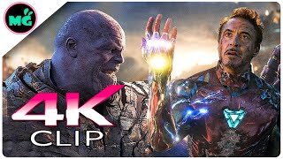 Download Iron Man Vs Thanos | Final Battle Scene - AVENGERS 4 ENDGAME (2019) New Movie CLIP 4K Video