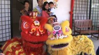 Download Chinese Lion Dance For House Blessings and Good Fortune Video