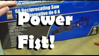 Download Bored of Lame Tool Reviews? Power Fist Saw. Sink your meat hooks into this Offshore Abomination! Video