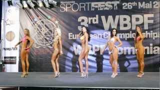 Download Model Physique -170cm @ WBPF European Championships 2012 Video