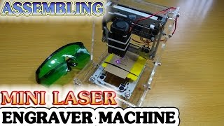 Download How to Assembling Mini Laser Engraver Machine with DIY Kits Video
