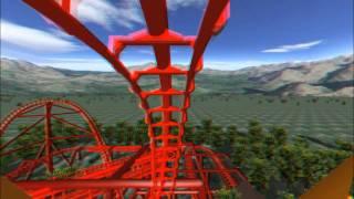 Download 3D Rollercoaster: Falcon (3D Glasses needed) (No Limits Simulator) Video