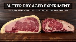 Download 60 Days BUTTER DRY AGED Experiment vs Real Dry Aged Steaks! Video