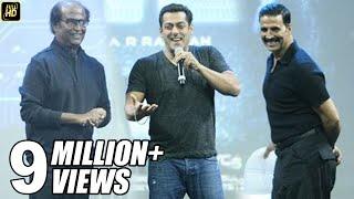 Download Salman Khan At Robot 2.0 First Look Launch Full Video HD - Rajinikanth, Akshay Kumar Video