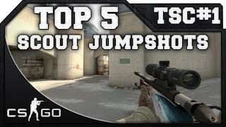 Download CS:GO - TOP 5 Subscriber Scout Jumpshots   TSC#1 Video