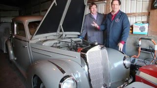 Download Kent Bergsma s 1952 Mercedes Benz 220 is On Its Way to England - Meet the Old Brit! Video