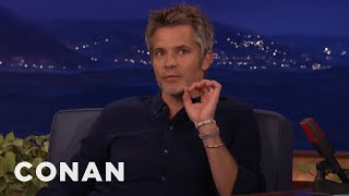Download Timothy Olyphant's Secret For Being Happy No Matter Where You Are - CONAN on TBS Video