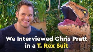 Download Candace Lowry Interviews Chris Pratt in a T. Rex Suit Video