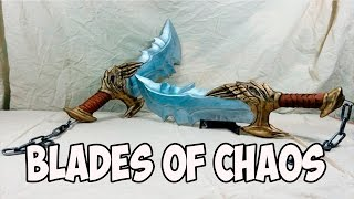 Download DIY Blades of Chaos (God of War) with templates Video