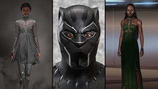 Download 'Black Panther' Costumes Merge African History With Afrofuturism | NYT Video