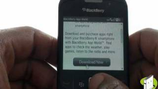 Download Downloading BlackBerry App World | Curve 8520 | The Human Manual Video
