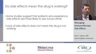 Download Managing Immunotherapy Side Effects Video