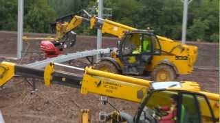 Download Building a Cow Shed. (10) Up she goes! Video