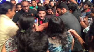 Download Mobbed by the fans wid their love at sum event ahmedabad . Mudassar khan . Video