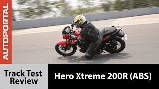 Download Hero Xtreme 200R(ABS) - Track Test Review - Autoportal Video