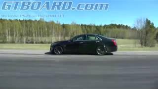 Download [4k] NEW Cadillac CTS-V vs BMW M3 JB4 ECU + downpipes (475 RWHP) Video