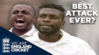 Download Windies 2000 - Best Bowling Attack Ever? | England v West Indies Lord's 2000 - Highlights Video