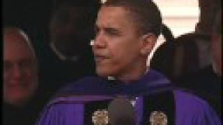 Download 2006 Northwestern Commencement - Sen. Barack Obama Video
