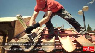 Download How to fit Clay roofing tiles using dry installation system - Tejas Borja Video