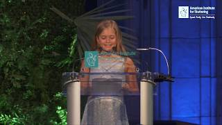 Download ″What I have to say is important, even if I stutter″ Jolie - 2018 AIS Gala Video