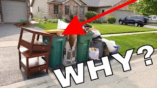 Download Why Do People Throw Away Good Stuff? Video