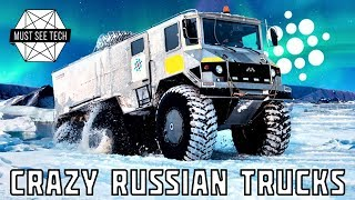 Download 7 Crazy Russian Trucks and Amphibious Off-Road Vehicles You Must See Video
