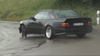 Download AMG Hammer Sideways In The Rain !! (And a Factory Tour) - /CHRIS HARRIS ON CARS Video