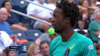 Download 2017 US Open: Young vs. Monfils top 5 plays Video