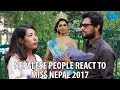 Download Nepalese People react to Miss Nepal 2017 Nikita Chandak Video