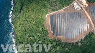 Download This Remote Island Runs On 5,000 Solar Panels Video