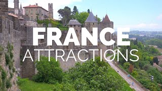 Download 10 Top Tourist Attractions in France - Travel Video Video