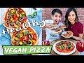 Download VEGAN PIZZA RECIPE! HEALTHY & EPIC Video
