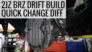 Download Installing a Quick Change Differential - 2JZ BRZ Drift Build - EP02 Video