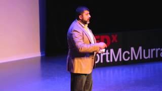 Download Resourceful Human vs Human Resource | Rahim Sajan | TEDxFortMcMurray Video