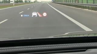 Download Mercedes-Benz klasy E (W213): Head-up Display (HUD) :: [1001cars] Video
