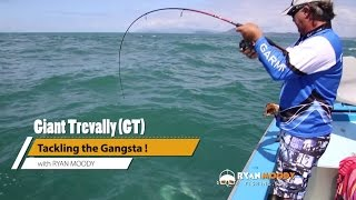 Download Catching Giant Trevally GT fishing Video