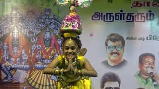 Download Must Watch An Awesome Performance By A Young Talented Girl in Kulasai Dasara 2017 Video