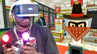 Download Playstation VR Gameplay - ARMED ROBBERY IN MY STORE! (Job Simulator) Video