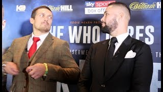 Download 'I WILL NEVER QUIT!' - OLEKSANDR USYK & TONY BELLEW TRADE WORDS IN HEAD TO HEAD @ PRESS CONFERENCE Video