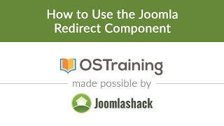 Download Joomla Beginner Class, Lesson #25: How to Use The Joomla Redirect Component Video