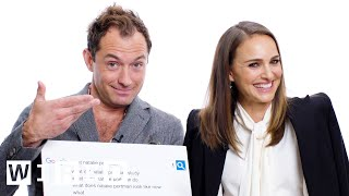 Download Natalie Portman & Jude Law Answer the Web's Most Searched Questions | WIRED Video