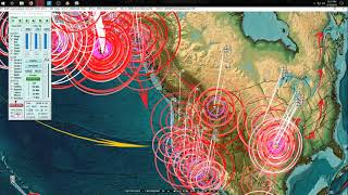 Download 4/19/2018 - Earthquakes strike Central USA, Europe, Middle East + Alaska as expected Video
