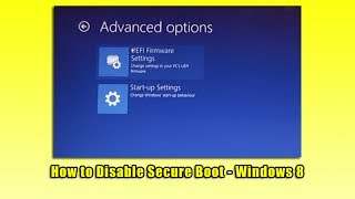 Download How to Disable Secure Boot - Windows 8 Video