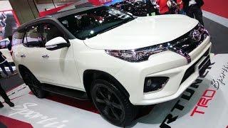 Download พาชม 2017 Toyota Fortuner 2.8 TRD Sportivo Black Top 4WD ภายนอก ภายใน Video