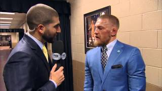 Download Conor McGregor: Emotional interview after lost to Nate Diaz UFC 196 Video