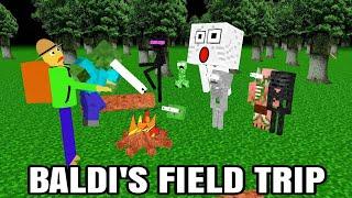Download Monster School Baldi' basic FIELD TRIP Minecraft Animation Video