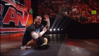 Download CM Punk Shoot On RAW 06/27/2011 Video
