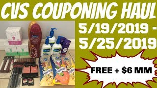 Download CVS COUPONING HAUL 5/19/2019 - 5/25/2019 | FREE + $6 MM Video